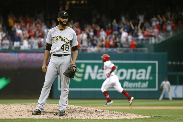 Pirates bullpen gives up lead in 3-2 loss to Washington